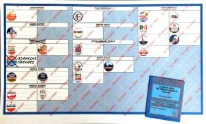 fac-simile della scheda elettorale per il Consiglio